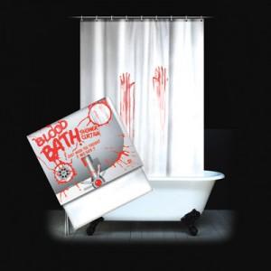 Подарок Шторка для ванной 'Фильм ужасов'