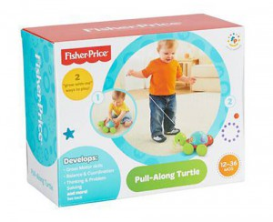 фото Каталка на мотузці Fisher-Price 'Вчена черепашка' #2