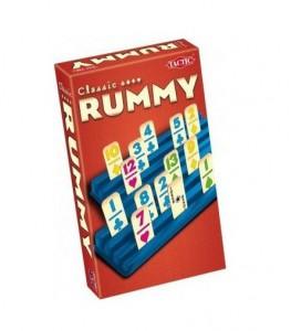 Настольная игра Tactic 'Румми' (дорожная версия)