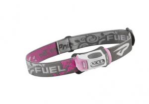Фонарь туристический налобный Fuel LED розовый