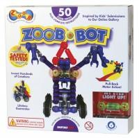 Конструктор ZOOB-BOT с инерционным механизмом и световым эффектом