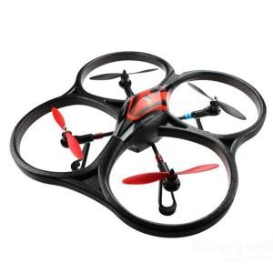 Квадрокоптер большой на радиоуправлении 2.4Ghz WL Toys V333 Cyclone 2 бесколлекторный