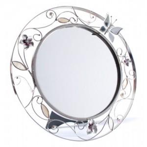Подарок Зеркало Charme de Femme 'Колокольчики и зеркальная бабочка'