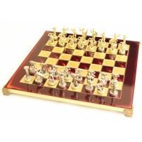 Шахматы 'Титаны' в деревянном футляре (красные)