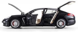 фото Машинка на радиоуправлении Meizhi. Porsche Panamera металлическая (черный) #2