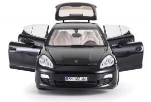 фото Машинка на радиоуправлении Meizhi. Porsche Panamera металлическая (черный) #3