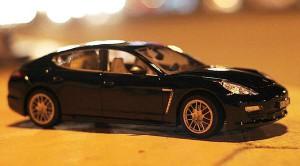 фото Машинка на радиоуправлении Meizhi. Porsche Panamera металлическая (черный) #4