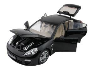 Машинка на радиоуправлении Meizhi. Porsche Panamera металлическая (черный)