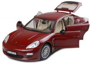 Машинка на радиоуправлении Meizhi. Porsche Panamera металлическая (красный)