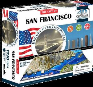 Пазл объемный 'Сан-Франциско, США'