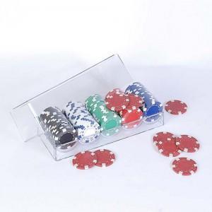 фото Набор для покера: 100 фишек в пластиковом кейсе #2
