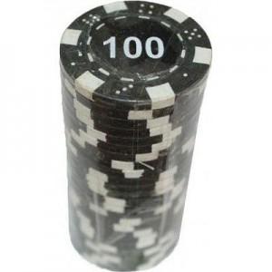 Набор для покера 'Merchant Ambassador' 25 фишек, номинал '100'