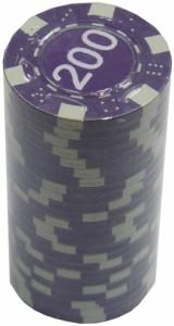 Набор для покера 'Merchant Ambassador' 25 фишек, номинал '200'