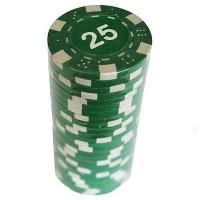 Набор для покера 'Merchant Ambassador' 25 фишек, номинал '25'