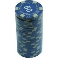 Набор для покера 'Merchant Ambassador' 25 фишек, номинал '50'