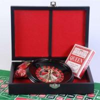 Набор 2 в 1: рулетка и мини-покер