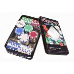 фото Набор для покера в оловянном кейсе (100  фишек) #3