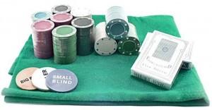 фото Набор для покера в  оловянном  кейсе (200  фишек, 2 колоды) #2