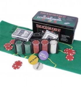 фото Набор для покера в  оловянном кейсе (200  фишек, 2 колоды) #3