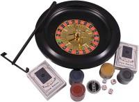 Настольная игра 'Набор из 5 игр: Рулетка, Покер, Блек Джек, Кости и Покер Лас-Вегас'