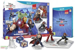 игра Disney Infinity 2.0 Marvel Super Heroes Starter Pack Nintendo Wii U