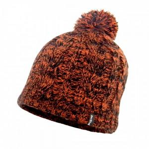 Водонепроницаемая шапка DexShell с бубоном оранжевая