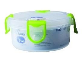 Подарок Контейнер Laken PP Lunchbox 0.35 L Round green lid