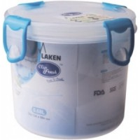 Подарок Контейнер Laken PP Lunchbox 0.68 L Round blue lid