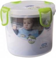 Подарок Контейнер Laken PP Lunchbox 0.68 L Round green lid
