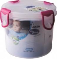 Подарок Контейнер Laken PP Lunchbox 0.68 L Round pink lid