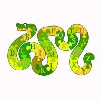 Пазл змея 'Нея'