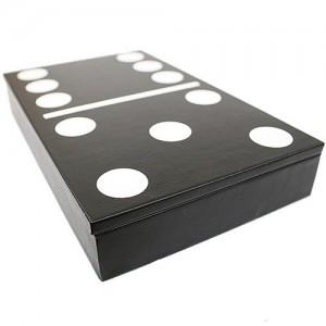 фото Настольная игра 'Домино в чёрном кейсе' #2