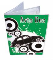 Подарок Обложка для водительских документов 'Green'