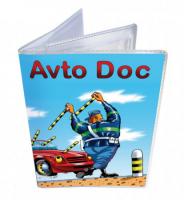 Подарок Обложка для водительских документов 'Коррида'