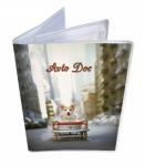 Подарок Обложка для водительских документов 'Пёс'