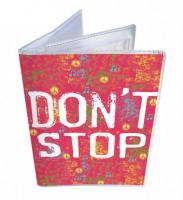 Подарок Обложка для водительских прав 'Don't Stop