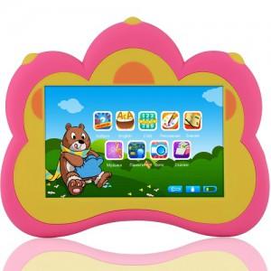 Развивающий планшетный компьютер B.B.Paw 'Умный медвежонок' (розовый)