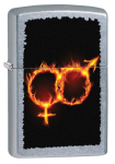 Зажигалка Zippo 'Man Woman Fire'