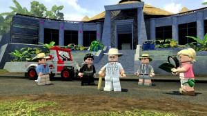 скриншот LEGO Jurassic World PS4 - LEGO Мир Юрского Периода - Русская версия #2
