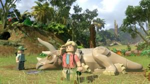 скриншот LEGO Jurassic World PS4 - LEGO Мир Юрского Периода - Русская версия #3