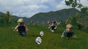 скриншот LEGO Jurassic World PS4 - LEGO Мир Юрского Периода - Русская версия #6
