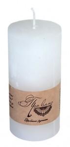 Подарок Свеча белая (10 см)