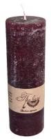 Подарок Свеча темно-красная (15 см)