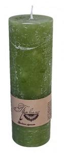 Подарок Свеча зеленая (15 см)