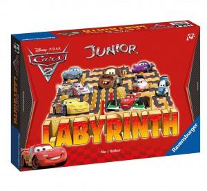 Настольная игра  'Лабиринт-Юниор Тачки-2'