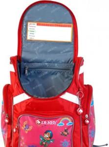 фото Детский рюкзак DERBY с ортопедической спинкой Бабочка #2