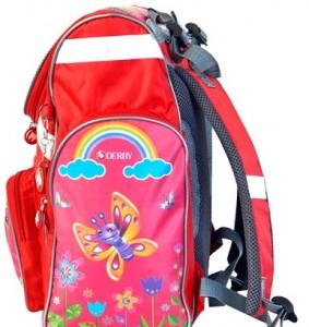 фото Детский рюкзак DERBY с ортопедической спинкой Бабочка #4