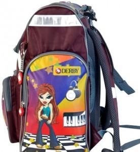 фото Детский рюкзак DERBY с ортопедической спинкой Диско #2
