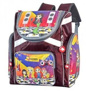 Подарок Детский рюкзак DERBY с ортопедической спинкой Диско