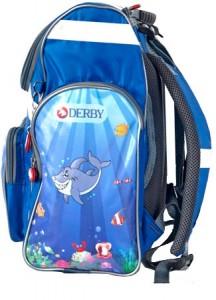 фото Детский рюкзак DERBY с ортопедической спинкой русалочка #2